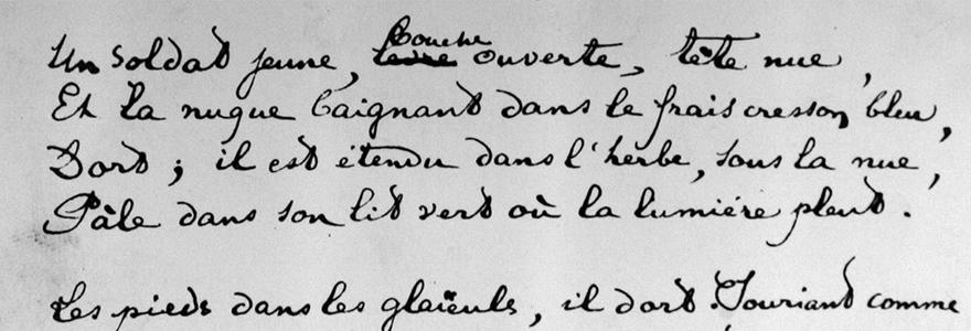 poèmes de Rimbaud